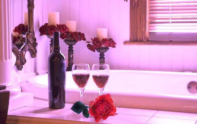red wine tub